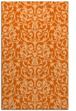 rug #282669 |  red-orange traditional rug