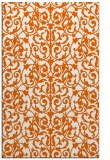 rug #282677 |  red-orange natural rug