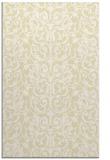 rug #282701 |  white damask rug