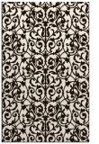 rug #282705 |  brown damask rug