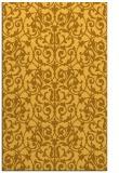rug #282713 |  light-orange traditional rug