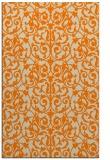 rug #282725 |  orange natural rug