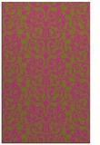 rug #282737 |  light-green traditional rug