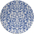 rug #282801 | round blue traditional rug