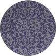 rug #282850 | round damask rug