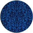 rug #282929 | round blue traditional rug