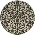 rug #282937   round natural rug