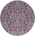 rug #282942 | round damask rug