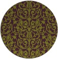 rug #282989 | round purple traditional rug