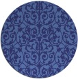 rug #283043 | round damask rug