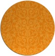 rug #283105   round light-orange traditional rug