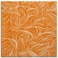 rug #283657 | square orange natural rug