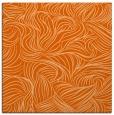 rug #283725 | square red-orange natural rug
