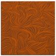 rug #283729 | square red-orange natural rug