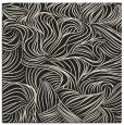 rug #283773 | square black natural rug