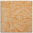 rug #283781 | square orange natural rug