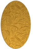 rug #284121 | oval light-orange natural rug