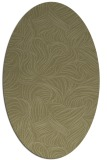 rug #284141 | oval light-green rug