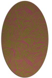 rug #284145 | oval light-green rug