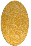 rug #284153 | oval light-orange natural rug