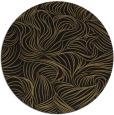 rug #284541 | round mid-brown natural rug