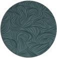 rug #284593 | round blue-green popular rug