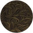 rug #284637 | round black natural rug