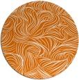 rug #284713   round orange natural rug