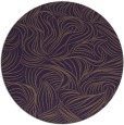 rug #284753 | round purple natural rug