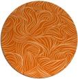 rug #284781 | round red-orange natural rug