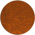rug #284785   round red-orange natural rug