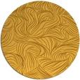 rug #284825 | round light-orange natural rug