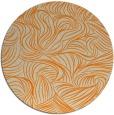 rug #284837 | round beige natural rug
