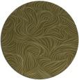 rug #284853 | round light-green natural rug