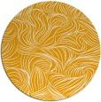 rug #284857 | round light-orange natural rug