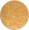 rug #284869 | round light-orange rug