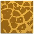 rug #287289 | square light-orange animal rug