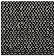 rug #288749 | square black animal rug