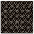 rug #288757 | square black animal rug