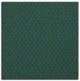 rug #288805   square blue-green animal rug