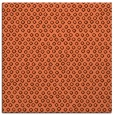 rug #288945 | square orange animal rug