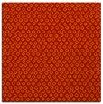 rug #288989 | square red animal rug