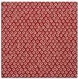rug #288993 | square red popular rug