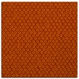 rug #289001 | square red-orange animal rug