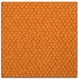 rug #289005 | square red-orange animal rug