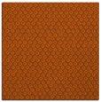 rug #289009 | square red-orange animal rug