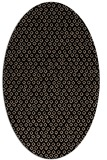 rug #289109   oval beige animal rug