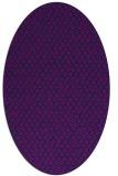rug #289125   oval pink animal rug
