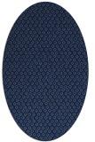 rug #289129   oval blue popular rug