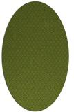 rug #289221   oval green rug